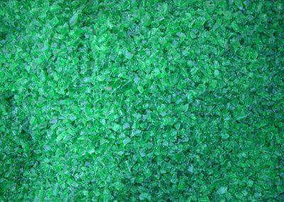 Preforma verde molida